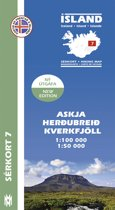 Island Serkort 07 Herdubreid - Askja 1 : 100 000