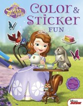 Disney color & sticker fun - Sofia het prinsesje / princess Sofia