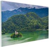 Slovenie Oost-Europa Glas 90x60 cm - Foto print op Glas (Plexiglas wanddecoratie)