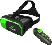 Virtual Reality Bril voor Smartphone (iPhone, Samsung, Oneplus, Huawei, etc.) + Bluetooth Controller