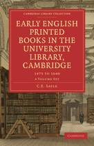 Early English Printed Books in the University Library, Cambridge 4 Volume Paperback Set