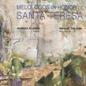 Melologos En Honor De Santa Teresa