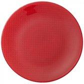 Plaatsbord 32cm, rood