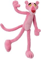 Jemini Knuffel Pink Panther Pluche Roze 22 Cm