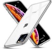 iPhone 11 Pro - hoesje met Tempered Glass achterkant bescherming - ESR - Ice Shield - Transparant