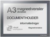 Magneetvenster A3 (uitwisbaar) - Grijs