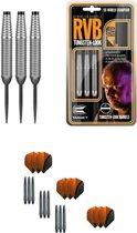 Target - Raymond van Barneveld - Tungsten Look 23 gram - dartpijlen + 9 dartshafts + 9 dartflights