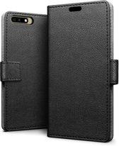 Huawei Y6 2018 hoesje - Book Wallet Case - zwart