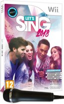 Let's Sing 2018 + 1 microphone - Wii - UK