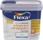 Flexa Mooi Makkelijk - Vloeren en Trappen - Mooi Wit - 750 ml