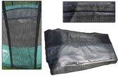 Los Veiligheidsnet voor Trampoline 305 cm met Sluis | 4 poten (zonder palen)