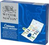 Winsor & Newton Cotman Aquarelverf Compact Set 14 halve napjes