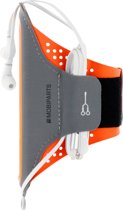 Mobiparts Comfort Fit Sport Armband Apple iPhone 6/6S/7/8 Neon Orange