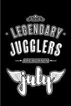 Legendary Jugglers are born in July