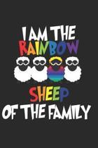 I'm the Rainbow Sheep in the Family: Funny Gay Pride - LGBT Gay Lesbian Rainbow Sheep