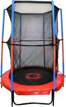 Kindertrampoline met veiligheidsnet (140cm)