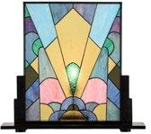 Tiffany Paneel Coloured Art Deco