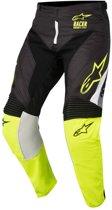 Alpinestars Crossbroek Racer Supermatic Black/Fluor Yellow/Grey-38