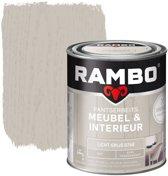 Rambo Pantserbeits Meubel&interieur Mat Licht Grijs 0748-0,75 Ltr