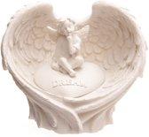 Hope Dream Love, Believe Engelen Vleugels - Cherubijnen steen