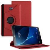 Samsung Galaxy Tab A 10.1 draaibare hoesje Rood