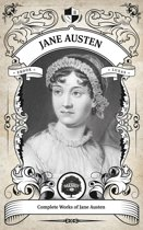 The Complete Works of Jane Austen (Illustrated, Inline Footnotes)