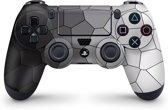 Playstation 4 Controller Skin Cells Zwart- PS4 Controller Sticker