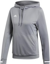 adidas T19 Dames Hoody - Sweaters  - grijs - M