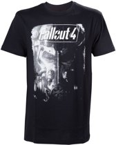 EOL Fallout 4 Brotherhood of Steel Black TShirt L