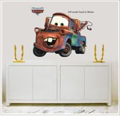 Muursticker Cars Takel Pixar Disney 3D kinderkamer jongenskamer cartoons tv film