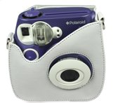 Polaroid 300 Instant Camera Leather Case White