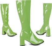 """""""Groen laarzen voor dames - Verkleedattribuut"""""""
