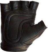 Mister b leather fingerless gloves s