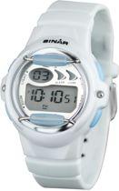 Sinar XF-61-0 digitaal horloge 35 mm 100 meter wit/ blauw