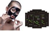 Peel Off Blackhead Killer Masker Set - Anti Acne Pilaten Blackhead Mask Remover - Porien Reiniger Masker - Mee-eters Acne Verwijderen - Zwart Gezichtsmasker - 10 Stuks