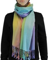 Sjaal / Shawl / Omslagdoek 100% Pashmina Multi Color 2
