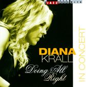 CD cover van Doing All Right - In Concert van Diana Krall