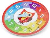 New Classic Toys - Klok Puzzel - Uil
