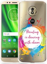 Moto G6 Play hoesje Painting