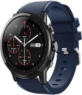 Sportbandje Donkerblauw geschikt voor Galaxy Watch 46mm & Samsung GEAR S3 - SmartphoneClip.nl