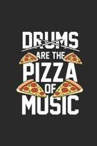 Drums Are The Pizza Of The Music