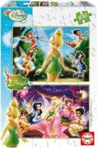 Legpuzzel - 2 x 100 stukjes - Disney Fairies - Educa puzzel