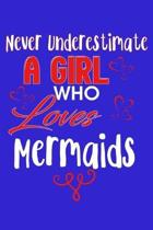 Never Underestimate A Girl Who Loves Mermaids: Crossfit Wod Journal