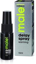 Male Delay Spray Warming Klaarkomen Uitstellen - 15 ml