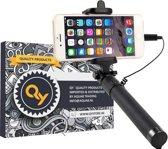 QY Selfie Stick - Wired Selfiestick voor iPhone 5-6-7-8 - met Lightning aansluiting, geen Bluetooth nodig