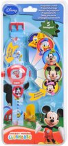 Projectiehorloge van Mickey Mouse Clubhouse
