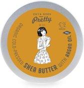 Organic Cold Pressed Shea Butter met Argan Oil - 90 gram