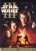 DVD cover van Star Wars III - Revenge Of The Sith