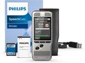 Philips DPM6000 dictaphone Flashkaart Zwart, Zilver