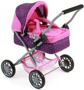 Bayer Chic 2000 Poppenwagen Smarty Purple Pink